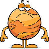 Sad Cartoon Venus Royalty Free Stock Images