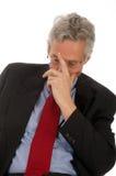 Sad CEO stock photo