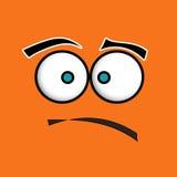 Sad. A sad character with big eyes vector illustration