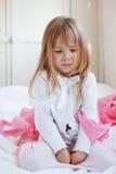 Sad child. Portrait of sad child girl Royalty Free Stock Image