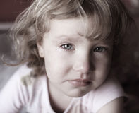 Sad child Royalty Free Stock Image