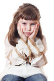 Sad child Stock Images
