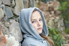Sad child. Little sad child is lonesome Stock Photography