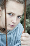 Sad child Royalty Free Stock Images