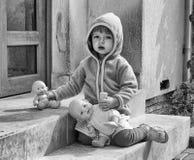Sad Child. Portrait of a sad child Stock Image