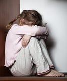Sad child. Sad little girl. Child's problems Stock Photography