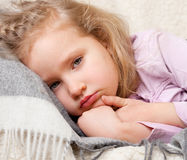Sad child Stock Photography
