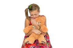Sad child crying Stock Image