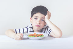 Sad child Stock Photo
