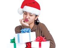 Sad Christmas Royalty Free Stock Photos