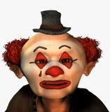 SAD clown Arkivbilder