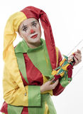 The sad clown Royalty Free Stock Image
