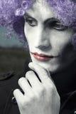 Sad clown Royalty Free Stock Photography