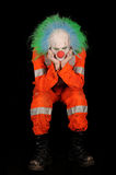 SAD clown arkivbild