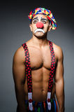 Sad clown Royalty Free Stock Images