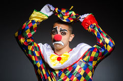 Sad clown Royalty Free Stock Photo