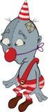 Sad clown. Cartoon Stock Photos