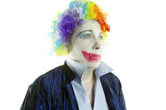 Sad Clown Face Royalty Free Stock Photo