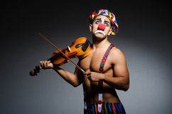 Sad clown Royalty Free Stock Photo
