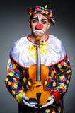 Sad clown Stock Photos