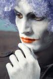 Sad clown Royalty Free Stock Photos