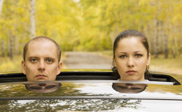 Sad couple Stock Photography