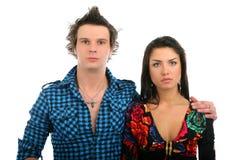 Sad couple Royalty Free Stock Images