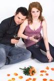 Sad couple Royalty Free Stock Photo