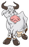 The sad cow Stock Photography