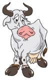 The sad cow Stock Photography