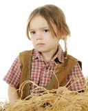 So Sad Cowgirl Stock Photos