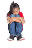 Sad And Depressed Young Asian Girl VI Stock Image