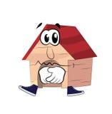 Sad  dog house Stock Image