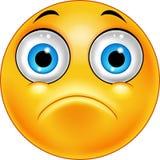 Sad emoticon face. Illustration of Sad emoticon face vector illustration