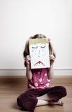 Sad face Stock Photography