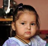 Sad face stock photo