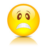 Sad face smiley Royalty Free Stock Images