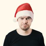 Sad face. Toned image. Royalty Free Stock Image