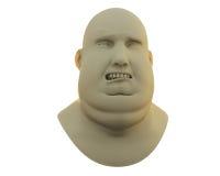 Sad fat man Royalty Free Stock Photos