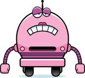 Sad Female Robot Stock Image