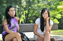 Sad friends Royalty Free Stock Images