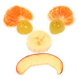 Sad fruits  diet Royalty Free Stock Images