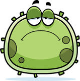Sad Germ Microbe Royalty Free Stock Photo