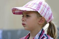 Sad girl. Portrait of a cute sad little girl Royalty Free Stock Image