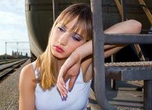 Sad girl Royalty Free Stock Photo