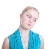 The sad girl Stock Photo