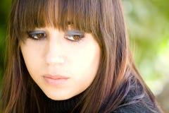 Sad girl. royalty free stock photography