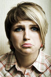 Sad girl. Royalty Free Stock Photo