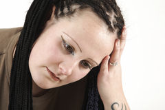 Sad girl Royalty Free Stock Image