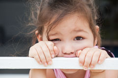 The sad girl Royalty Free Stock Image